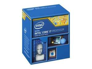 Intel Core i7-4790K 4.00GHz 'Devils Canyon' Processor £229.98 @ Dabs with code