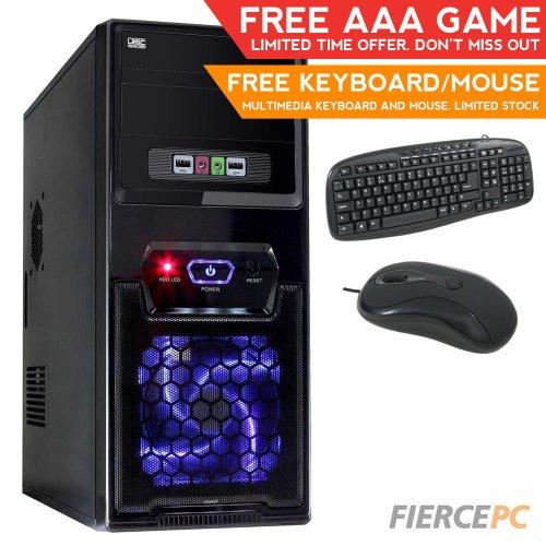 Quad Core 8GB 1TB Desktop PC Computer 4.2GHz AMD A8 APU £229.95 @ Fierce PC Limited / Ebay