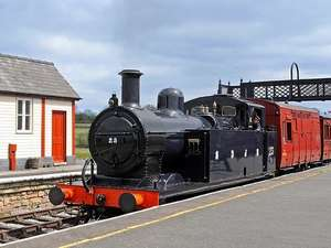 Midland Railway Family Day Out (2 Adults and 3 Kids) for £15 (was £38.75) @ Amazon Local