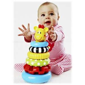 Early Learning Centre - Sensory Stacking Rings £11.10  & FREE Delivery in the UK. Sold by Midco Toys Ltd and Fulfilled by Amazon.
