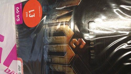 Doom 3 BFG PC £1 instore at Game.