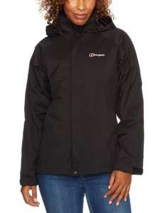 Berghaus Women's Calisto Waterproof Jacket Size 16 in Black