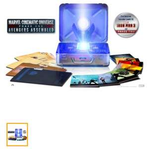 Marvel Cinematic Universe: Phase One - Avengers Assembled (10-Disc Limited Edition Six-Movie Collector's Set) [Blu-ray] £83.46 @ amazon  US including delivery