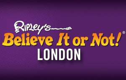 Two tickets to Ripley's Believe It or Not! £17.22 @ KGB deals