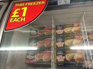 Chicago Town Deep Dish Pizza 2 pack £1 @ Farmfoods