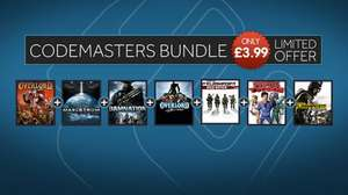 Codemasters Bundle £3.99 @ GMG