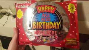 24 inch helium balloon 29p @ Home Bargains