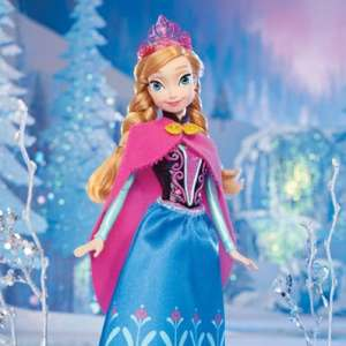 Frozen Anna sparkle doll - £15 @ Amazon