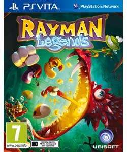 Rayman Legends New (PS Vita) at Argos £12.99