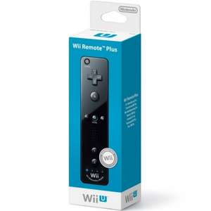 Wii Remote Plus (Black) @ Argos - £17.99