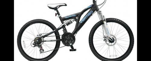 """Vertigo Eiger 26"""" Dual Suspension Adult Mountain Bike 18"""" Frame £120 @ Tesco"""