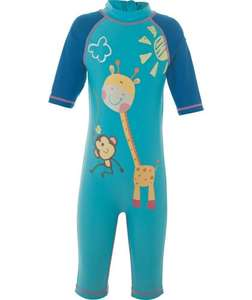 Argos - Chad Valley Boys' Sunsafe Suit and Hat Set Was £11.99 Now 99p sizes 3-4 and 4-5 :)