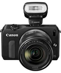 Canon EOS M 18MP Compact System Camera with 18-55mm Lens £199.99 Argos