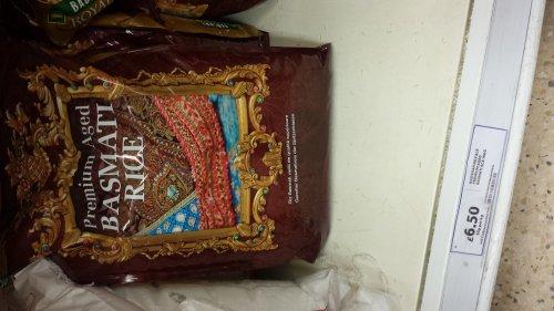Badshah Royale Premium Basmati Rice 10 kg £6.50 @ Tesco