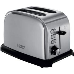 Russell Hobbs 21450 2 Slice Toaster - Stainless Steel  (50% off) - 3 year warranty £19.99 @ Argos