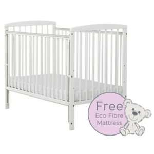 Cot + Free Mattress, Free Delivery,  £60 @ Argos, was £89.99