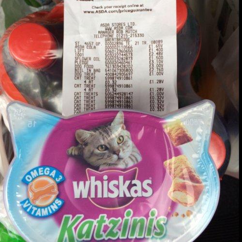 Whiskers Katzinis 32p @ Asda