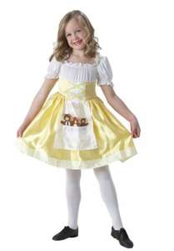 Goldilocks Dress-Up Outfit - 5-6 Years.  £7.99 @ Argos