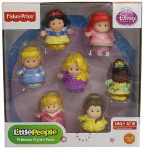 Fisher-Price Little People Disney Princess Figure Pack £14.39 @ Amazon