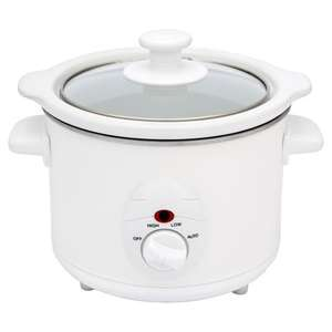 Wilkinsons Slow Cooker 1.5L (Low, High, Auto Settings) £8.00 Free Delivery To Store