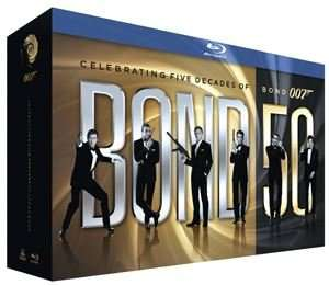 James Bond: Bond 50 Collection (22 Films) BLU-RAY - £44.99 / DVD - £29.99 & Free UK Delivery (10% off code - AUGUST10) @ HMV Shop