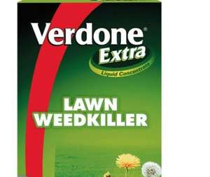Verdone lawn weedkiller concentrate 500ml @ Tesco Direct 3.25 c&c