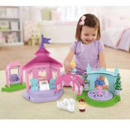 £29.99 Fisher Price Little People Disney Princess Garden Tea Party @ Argos