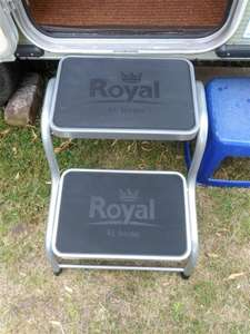 'Royal' Double Caravan Step - Half Price £7.49 (ALDI - Pick Up)