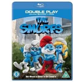 The Smurfs bluray + dvd (double play) £3.00 TESCO DIRECT + club card boost
