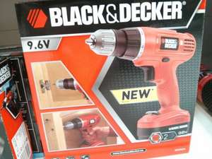 Black and Decker Cordless Drill £9 @ Sainsburys instore