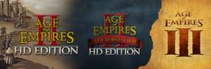 Age Of Empires Legacy Bundle £7.49 @ steam