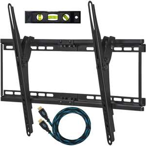 Cheetah Mounts TV Wall Mount Bracket for 32-65 inch with 3m Braided Ethernet HDMI £11.69 - Sold by Pirate Trading, LLC and Fulfilled by Amazon