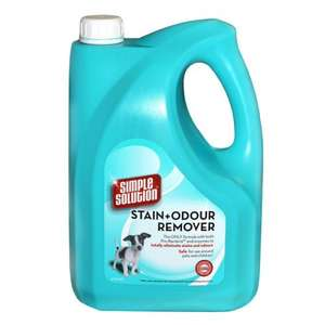 Simple Solution Stain & Odour Remover for Dogs 4 Ltr £13.99 @ Petsupermarket