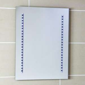 Large LED Bathroom Mirror - £34.07 @ Plumbworld.co.uk (Free Delivery / Daily Deal)