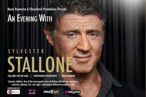 Better than half price (56% off) Sylvester Stallone tickets - £19.99 @ Wowcher