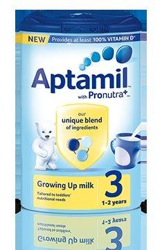 Aptamil Growing Up Milk(900g) Half Price Only £4.75 @ Sainsbury's.