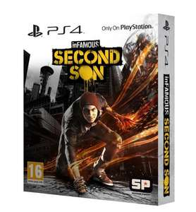 inFAMOUS Second Son Special Edition (PS4) New Delivered £34.99 @ Grainger Games