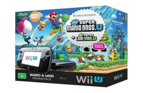 Nintendo Wii U 32GB Special Edition Mario & Luigi Premium Pack  *Manufacturer refurbished £187.49. Argos outlet Ebay