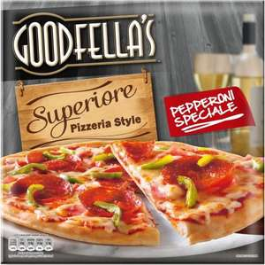 Goodfella's Ultra Thin Superiore Chicken Arrabiata/ Pepperoni Speciale Pizza £1 @ Tesco