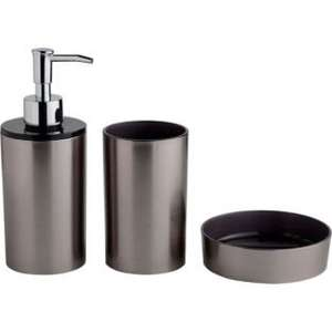 Stainless Steel Bathroom Accessories Set. 162/2786 originally £12 now down to £3.99 @ argos
