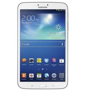 "Samsung Galaxy Tab 3 8.0"" 16GB Wi-Fi SM-T310 Tablet Android 4.2 *White* A grade refurb @  cheapest electricals £114.99"