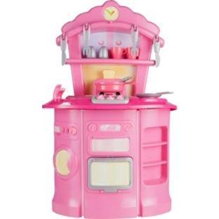 Chad Valley Pink Kitchen Playset NOW £8.99 @ Argos less than half price