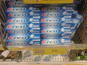 Crest toothpaste only 50p at Home bargains!