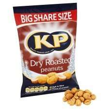 KP Dry Roasted Peanuts 500g £1.00 @ One Stop