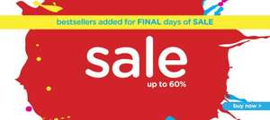 Sale upto 60% at Crocs UK + 20% additional discount for first time registered customer
