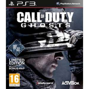 Call Of Duty Ghosts (PS3 Freefall Edition) £12.95 Delivered @ TheGameCollection