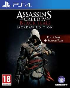 Assassins Creed IV (4): Black Flag - Jackdaw Edition (full game + season pass) (PS4) £44.11 @ amazon