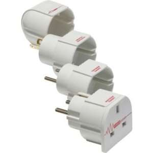 Masterplug Surge Protected Travel Adaptor £2.49 @ argos