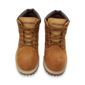 EXPIRED Sketchers Tan Sergant worker boots - from Debenhams SIZE 13 (Mens) ONLY £21