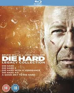 Die Hard Legacy Collection 1-5 Blu Ray £14.99 @ HMV Ireland/Xtra-Vision